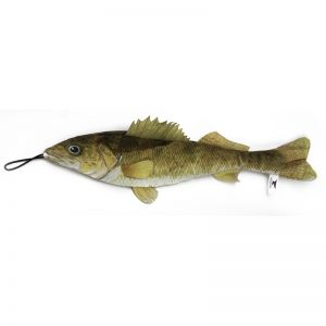 Freshwater Fish Walleye with Rope