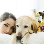 Monthly Dog subscription box with treat and supplements